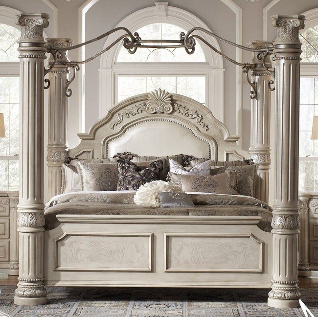 Transforming Your Bedroom Using Luxury Canopy Beds Decor