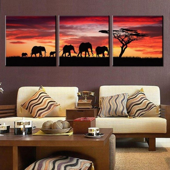 Let Your Living Room Stand Out With These Amazing Ideas For African Living Room Themes Decor