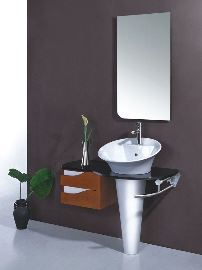Mirrored Bathroom Set