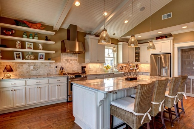 Slanted Ceilings For A Unique Touch In Your Homes