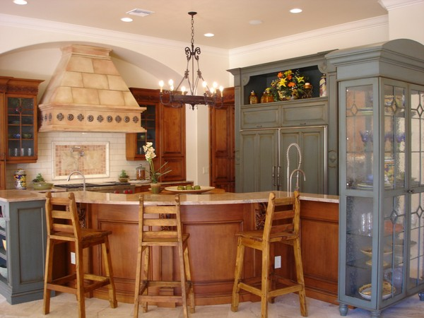 Spanish Style Kitchen Design