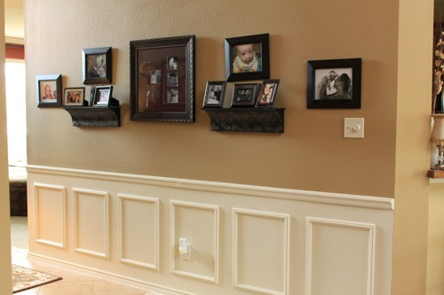 How To Fake Wainscoting Decorchick