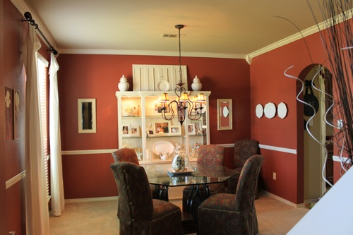 A Dining Room Turned Office - Decorchick!