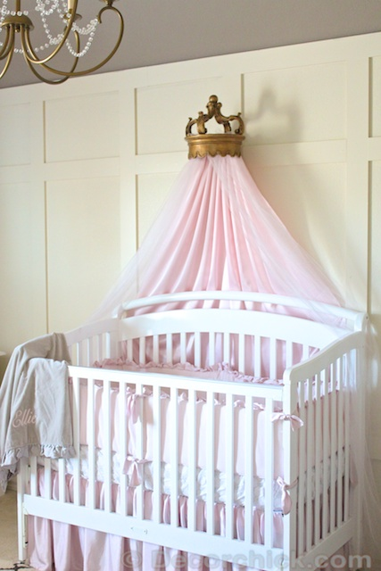 Antique Bassinet Bedding