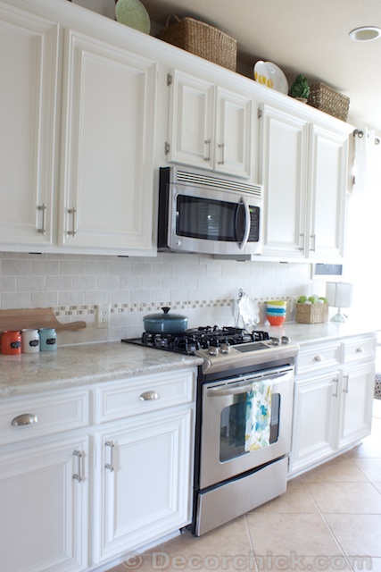 Beau White Cabinets In Kitchen