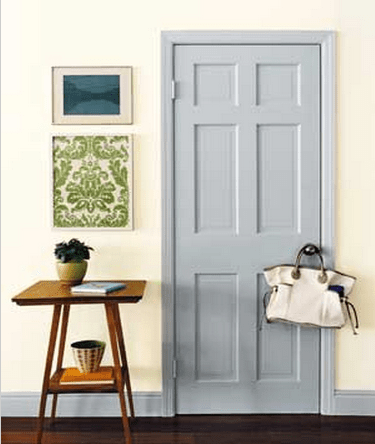 Good Grey Painted Door