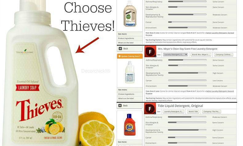 Thieves Laundry Soap Comparison. You Decide! | Decorchick!®