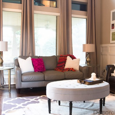 Clean Living Room After Christmas | Decorchick!®