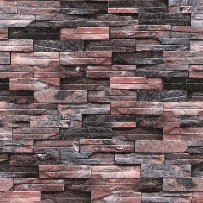 3D Multi-colored Stone Brick Wallpaper Design - 5Sqm ...