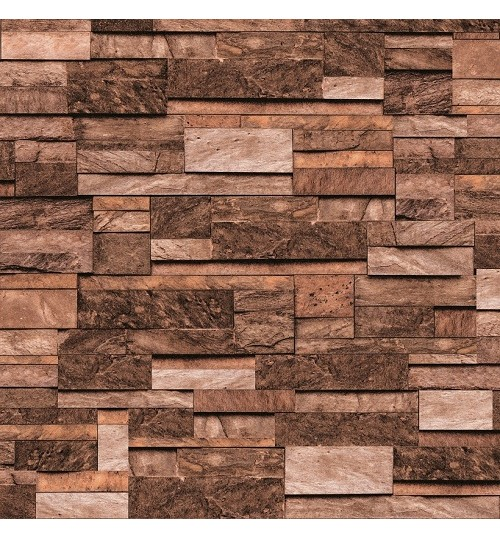 Washable waterproof 3d brick modern design wallpaper for 3d wood wallpaper