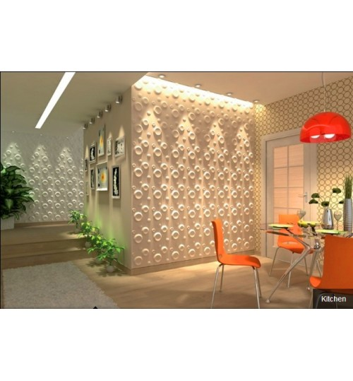 spring 3d wall panel