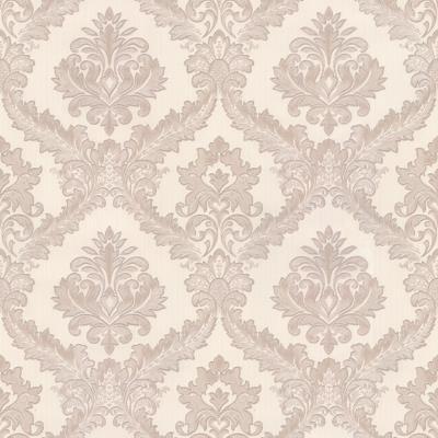 Brown And Cream Royal 1533 Wallpaper Design