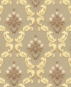Gold and Brown Baroque wallpaper 1514 Sold in Nigeria by DecorCity
