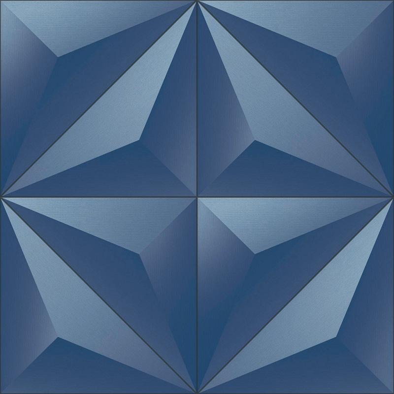 . Modern Blue prism 3D Wallpaper   6503