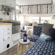 73 RV & Camper Van Remodel, Hacks Interior Decor Ideas
