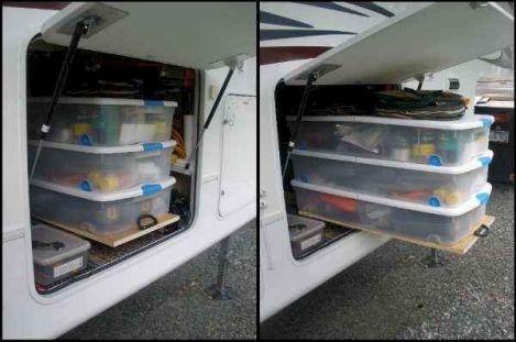 Creative Camper Van & RV Storage 30 Ideas