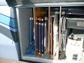 Creative Camper Van & RV Storage 33 Ideas