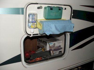 Creative Camper Van & RV Storage 81 Ideas
