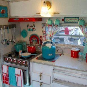 07 Best Camper Interior Hacks, Makeover, Remodel Decorating Ideas
