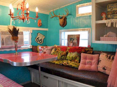 45+ Marvelous Camper Interior Hacks, Makeover, Remodel and ...