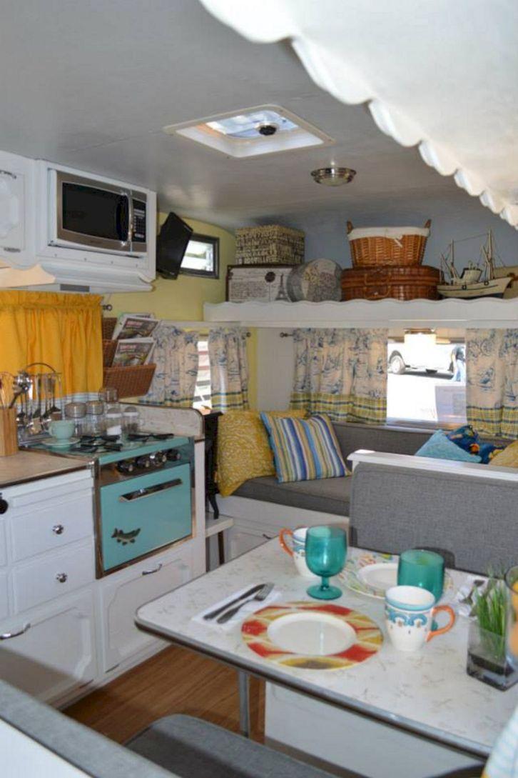31 Best Camper Interior Hacks, Makeover, Remodel Decorating Ideas