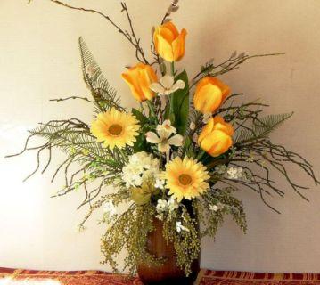 Elegant Silk Flower Arrangements