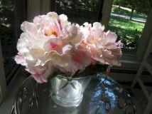 Light Pink Silk Flower Arrangement