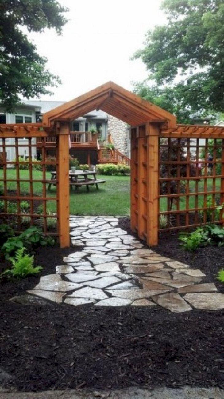 Best Wooden Garden Fence Design
