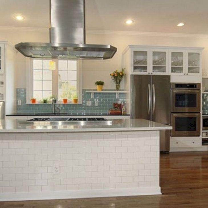 7 Sea Glass Tile Kitchen Backsplash Designs