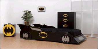 Batman Car Beds for Boys