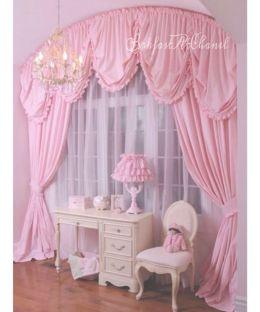 Beautiful Curtain Princess Design Ideas 17