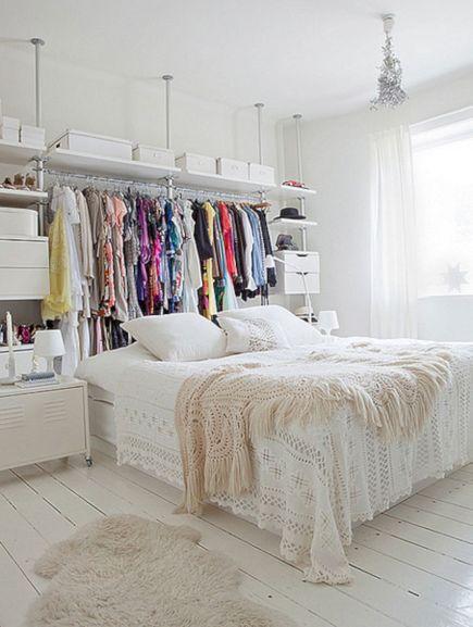 Bedroom Storage Ideas No Closet