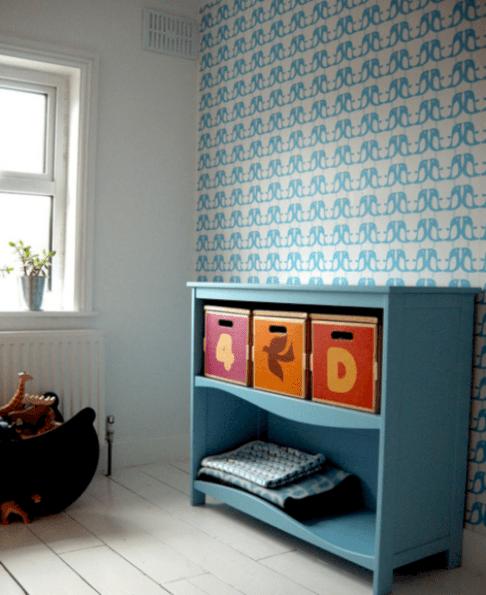 Blue Gender Neutral Kids Room