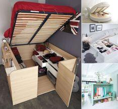 Clever Bedroom Storage Ideas