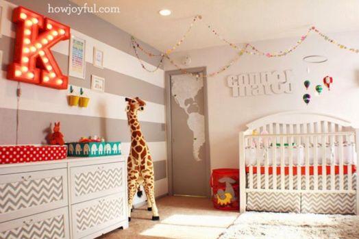 Colorful Gender Neutral Nursery