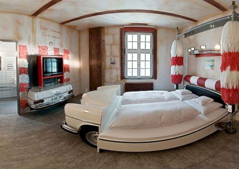 Amazing Car Themed Kids Bedroom Design Ideas DECOREDO - Car themed bedrooms