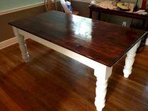 DIY Farmhouse Dining Table Leg Plans