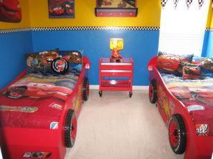 Disney Cars Themed Bedroom