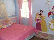 Disney Princess Bedroom Wall Idea