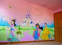 Disney Princess Bedroom Wall Mural