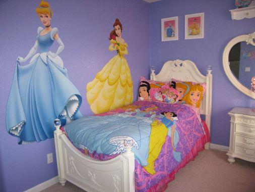 Disney Princess Room Decor Ideas