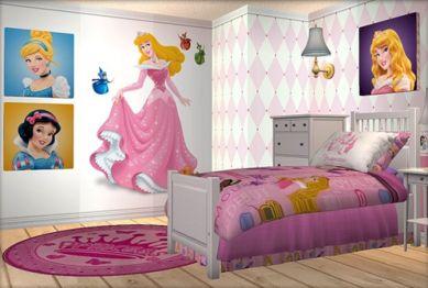 Disney Princess White Bedroom