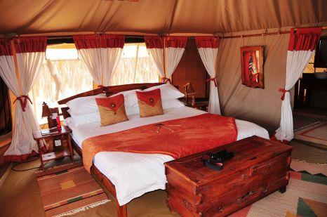 Elephant Bedroom Camping Samburu Kenya