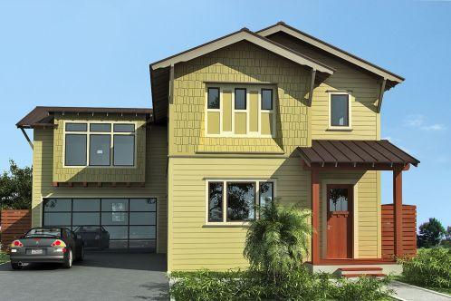 Exterior House Paint Color Idea