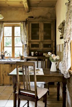Farmhouse Country Kitchen