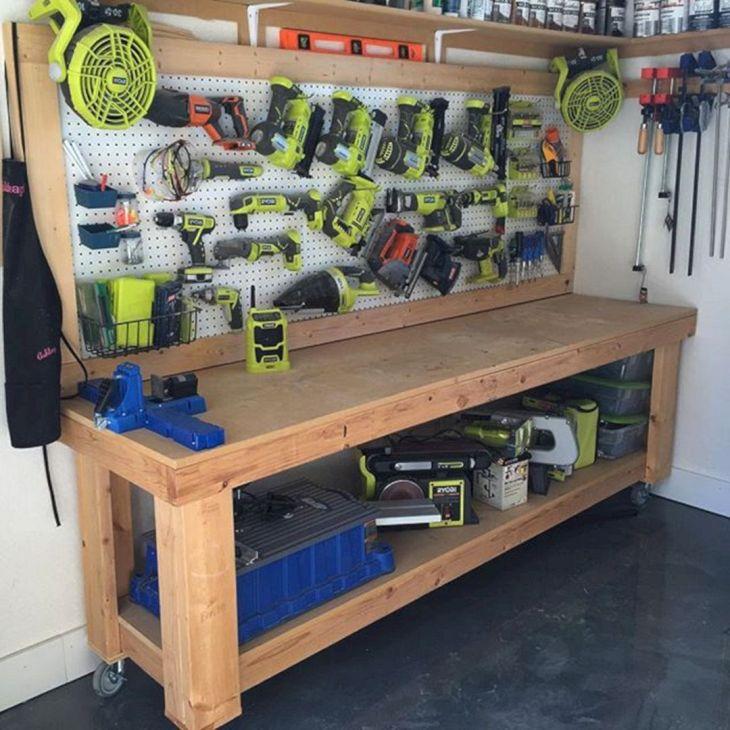 Garage Workbench Design Ideas