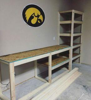Good Ideas About Garage Workbench No 2