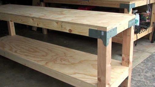 Good Ideas About Garage Workbench No 30