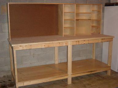 Good Ideas About Garage Workbench No 46