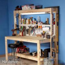 Good Ideas About Garage Workbench No 8
